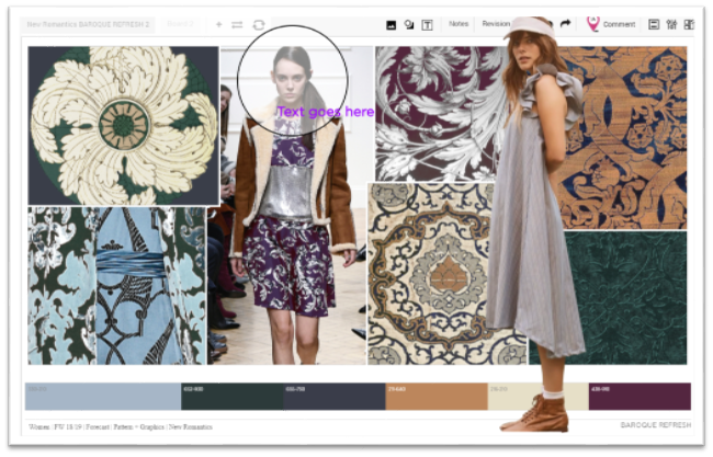 Share And Discuss Image Text And Shape Over Layers On Structured Boards